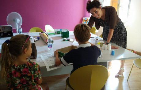 Lara Teaching